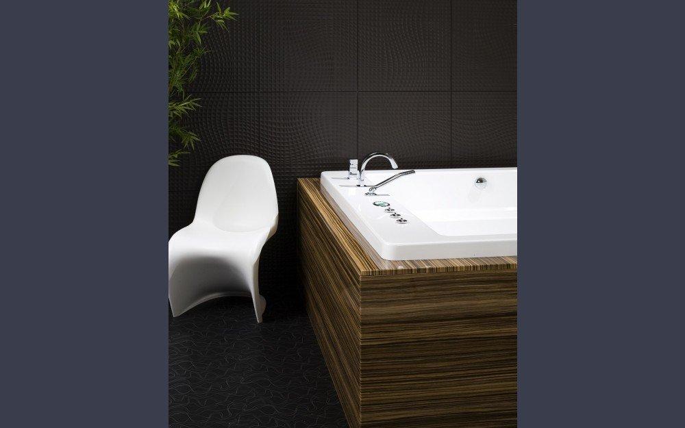 Ванна в стиле хай тек фото Lacus-5