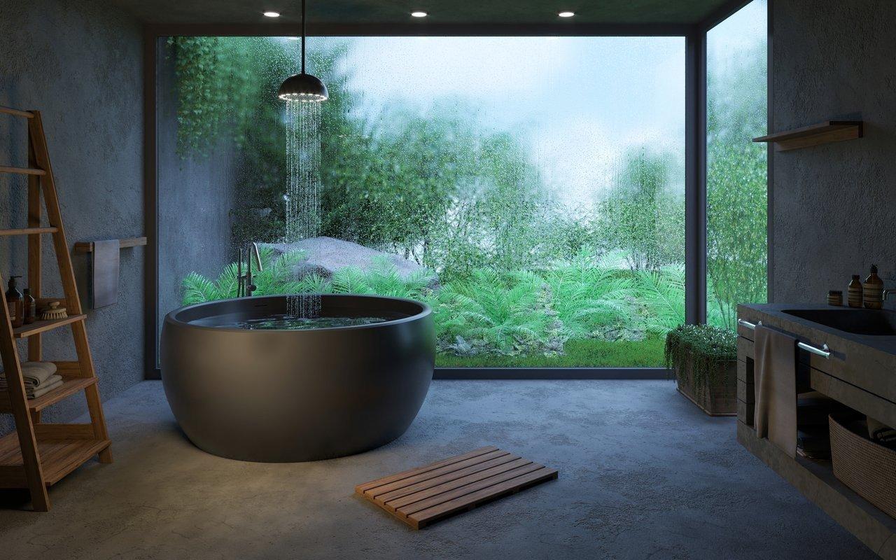 Aura Blck Freestanding Solid Surface Bathtub 02 (web)