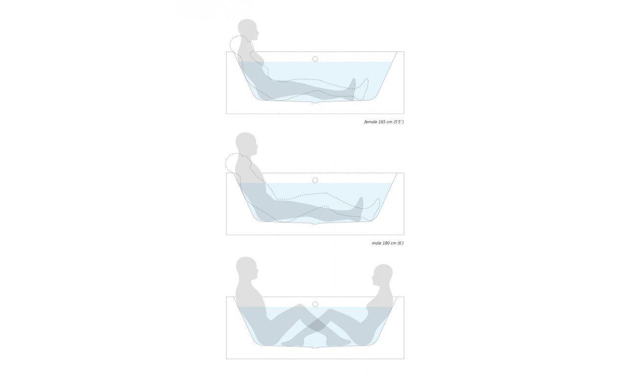 Allegra blt in wht built in acrylic bathtub by Aquatica 05 (web)