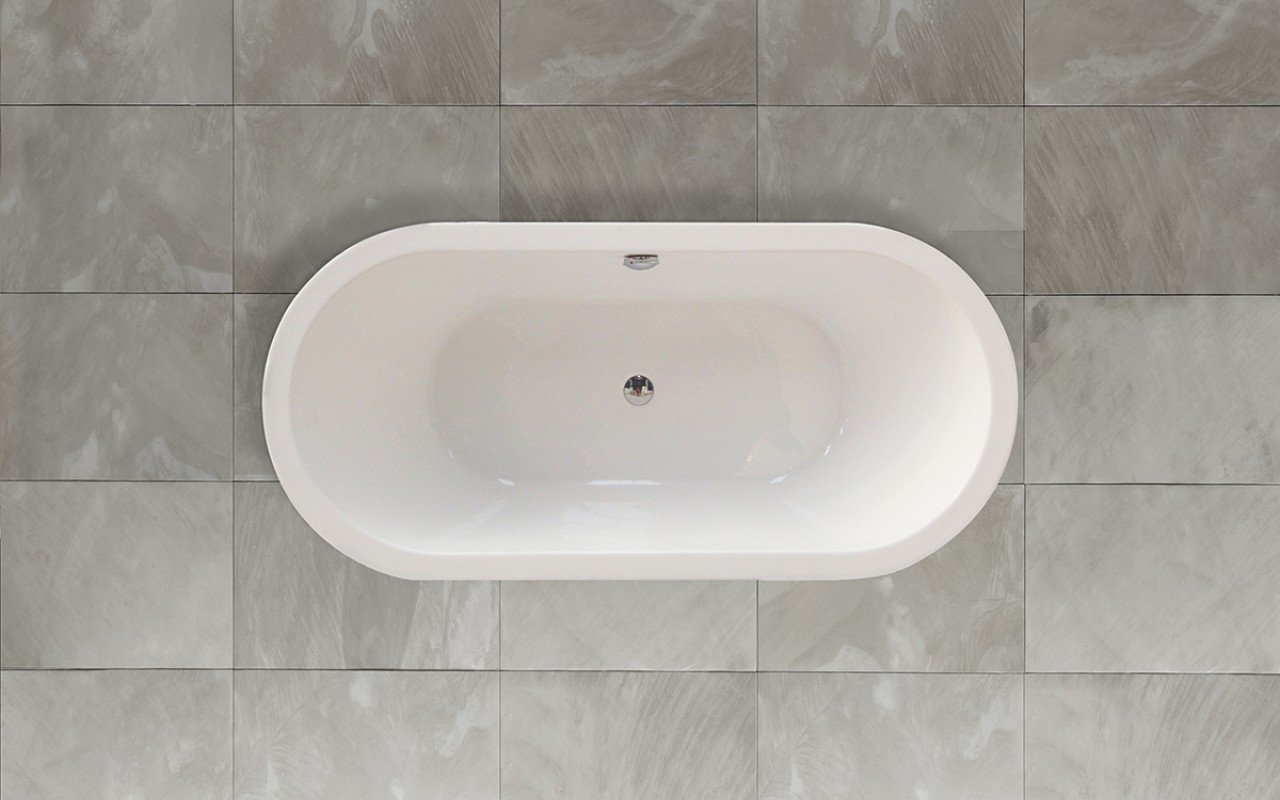 Super aquatica purescape 014a freestanding acrylic for Best acrylic bathtub to buy