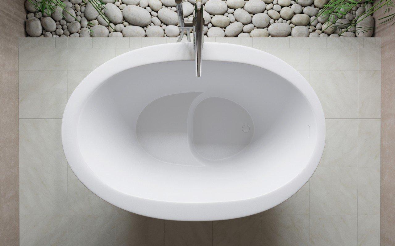 aquatica trueofuro stone bathtub 3 - Soaking Tub