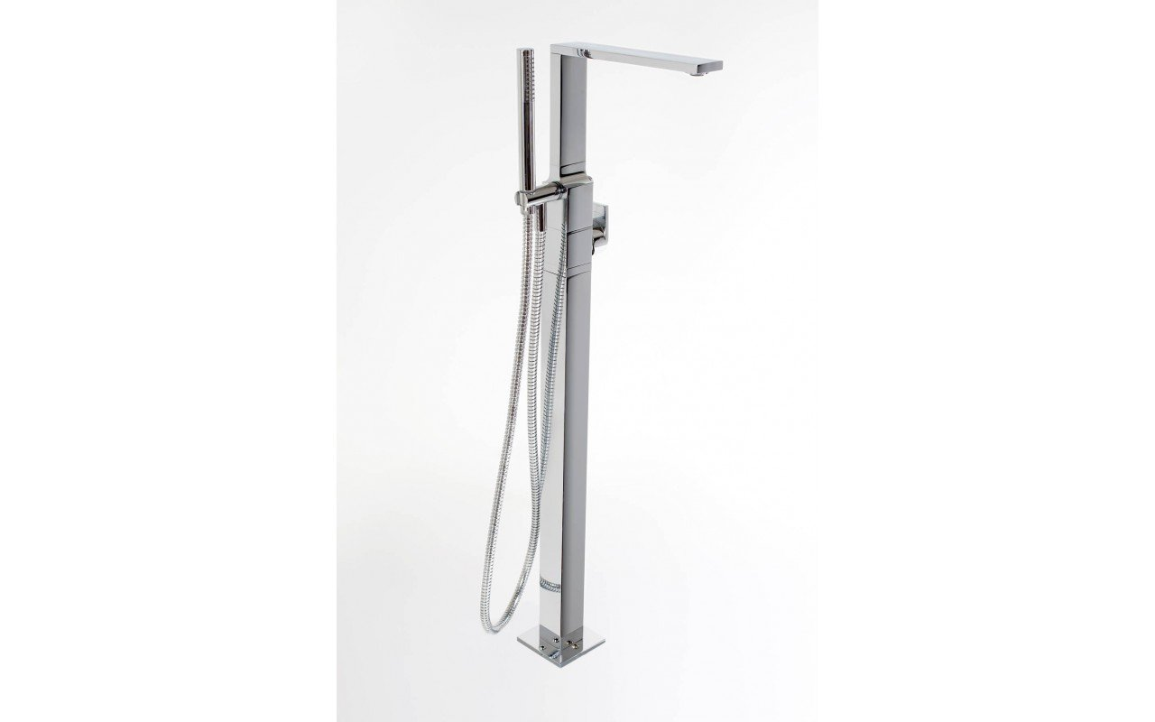 Aquatica Metro (B700 CP) Floor Mounted Tub Filler SDF2491 WEB