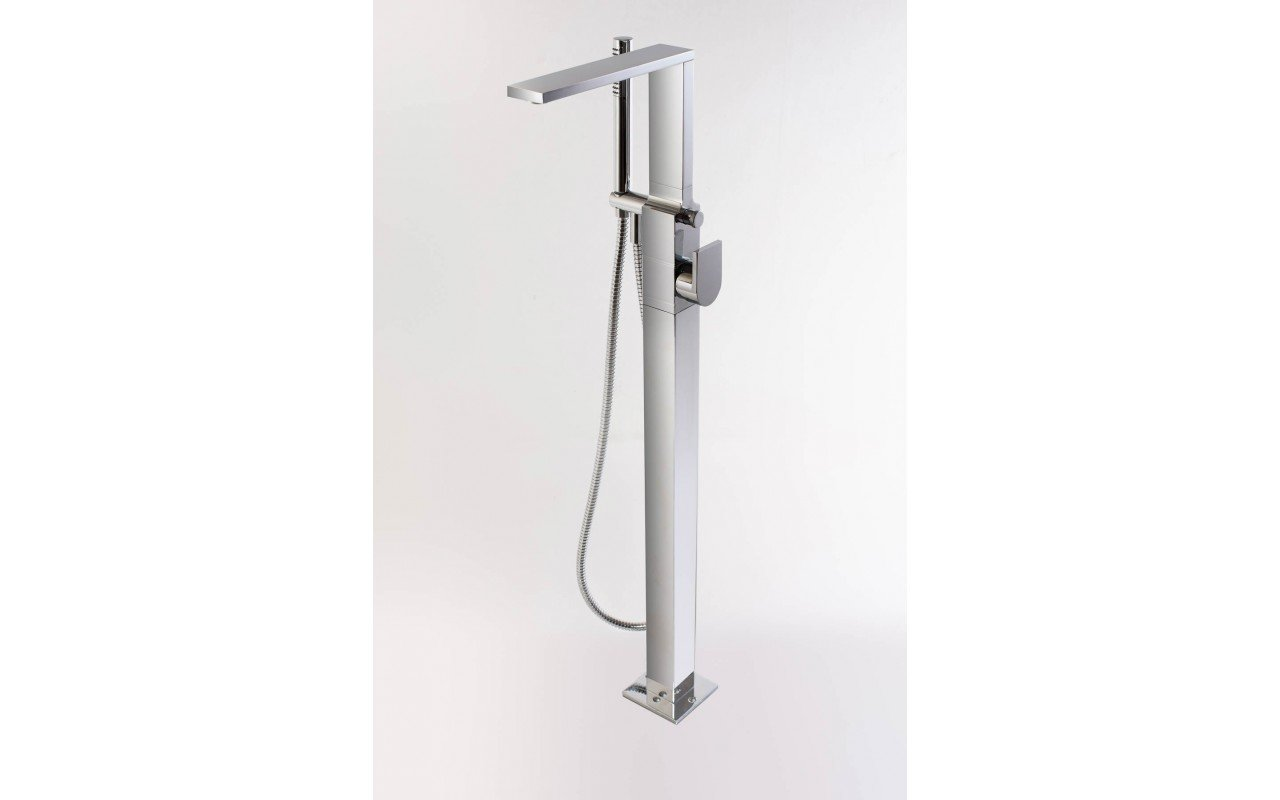 Aquatica Metro (B700 CP) Floor Mounted Tub Filler SDF2513 WEB