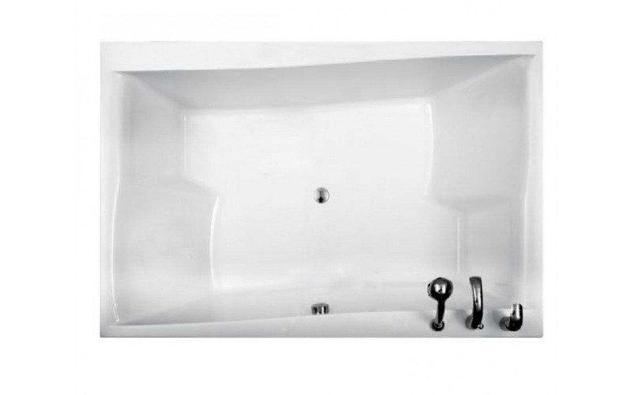 Aquatica Pool Duetto drop in acrylic bathtub 2