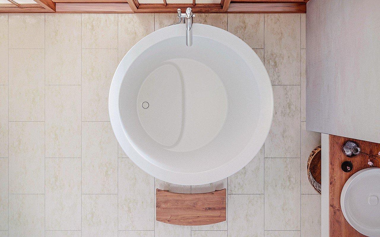 Aquatica True Ofuro Mini Freestanding Stone Japanese Soaking Bathtub web (5)