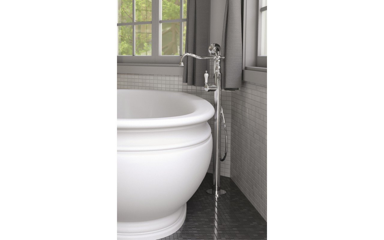 Aquatica caesar faucet floor mounted tub filler chrome 01 (web)