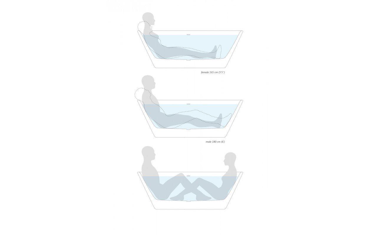 Arabella Solid Surface Bathtub by Aquatica En (web)