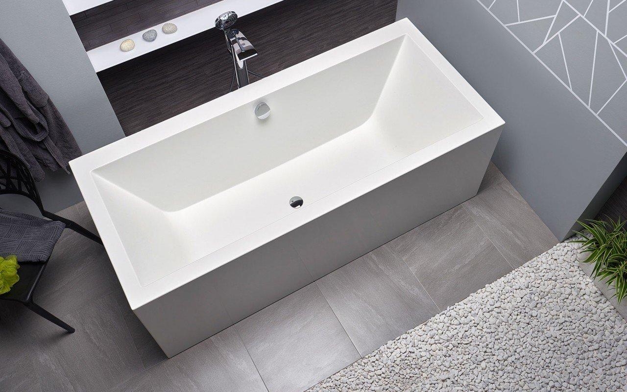 Continental Wht Freestanding Solid Surface Bathtub by Aquatica web (11)