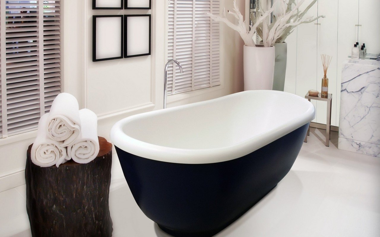 Fido Black Stone Bathtub 2 web