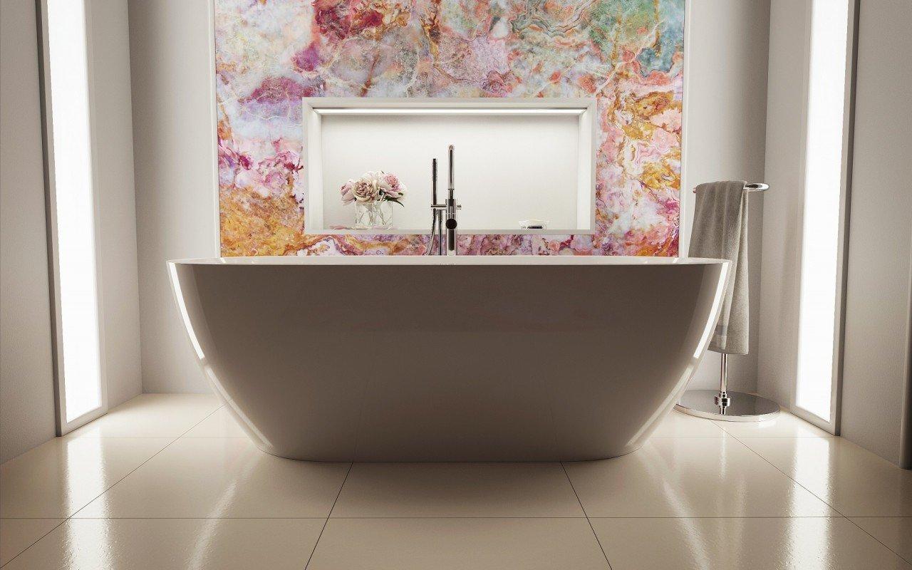 Gloria Wht Freestanding Acrylic Bathtub 6 web