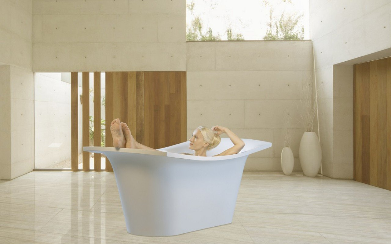 LoveMe Black Stone Bathtub web (9)