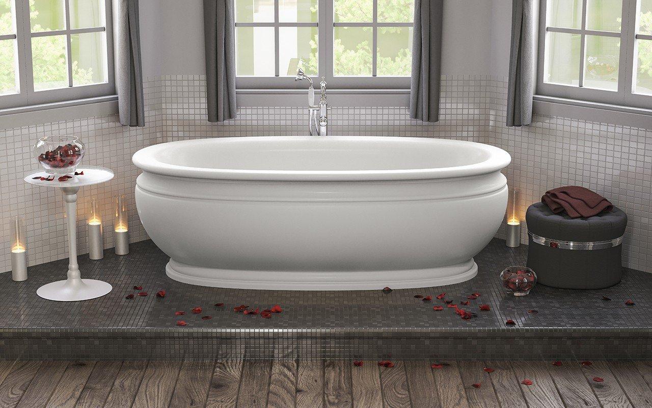 olympian roman solid surface bathtub web 2 - Vintage Tub