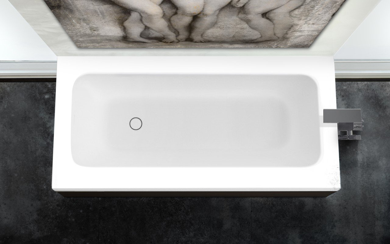 Pure 1d by aquatica back to wall stone bathtub with dark decorative wooden side panels 04 (web)