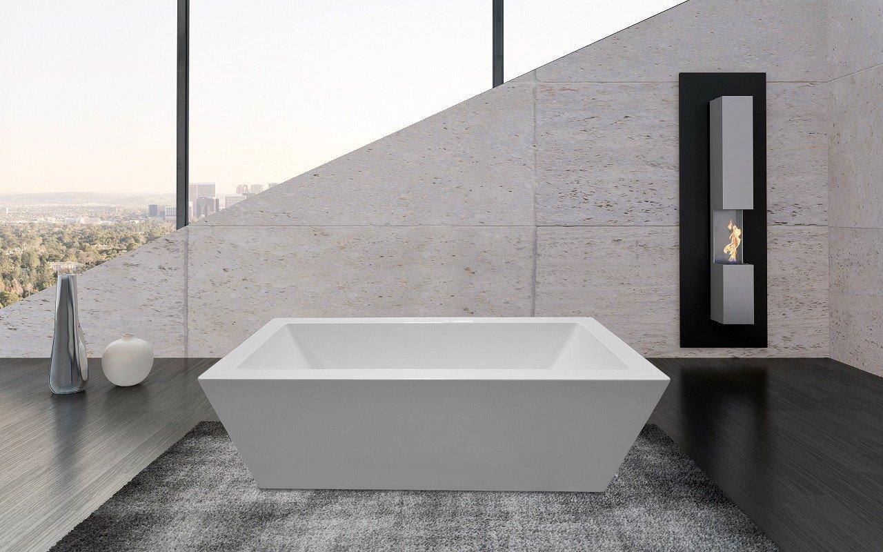 PureScape 026 Freestanding Acrylic Bathtub by Aquatica web 6 1