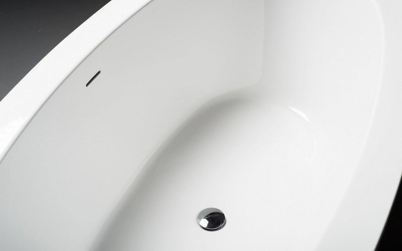 PureScape 174 Freestanding Acrylic Bathtub 4 web