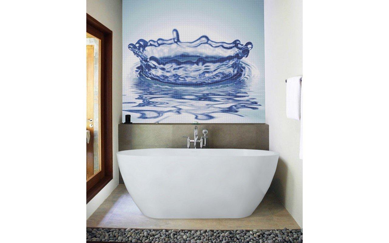 Purescape 617 Freestanding Stone Bathtub 3