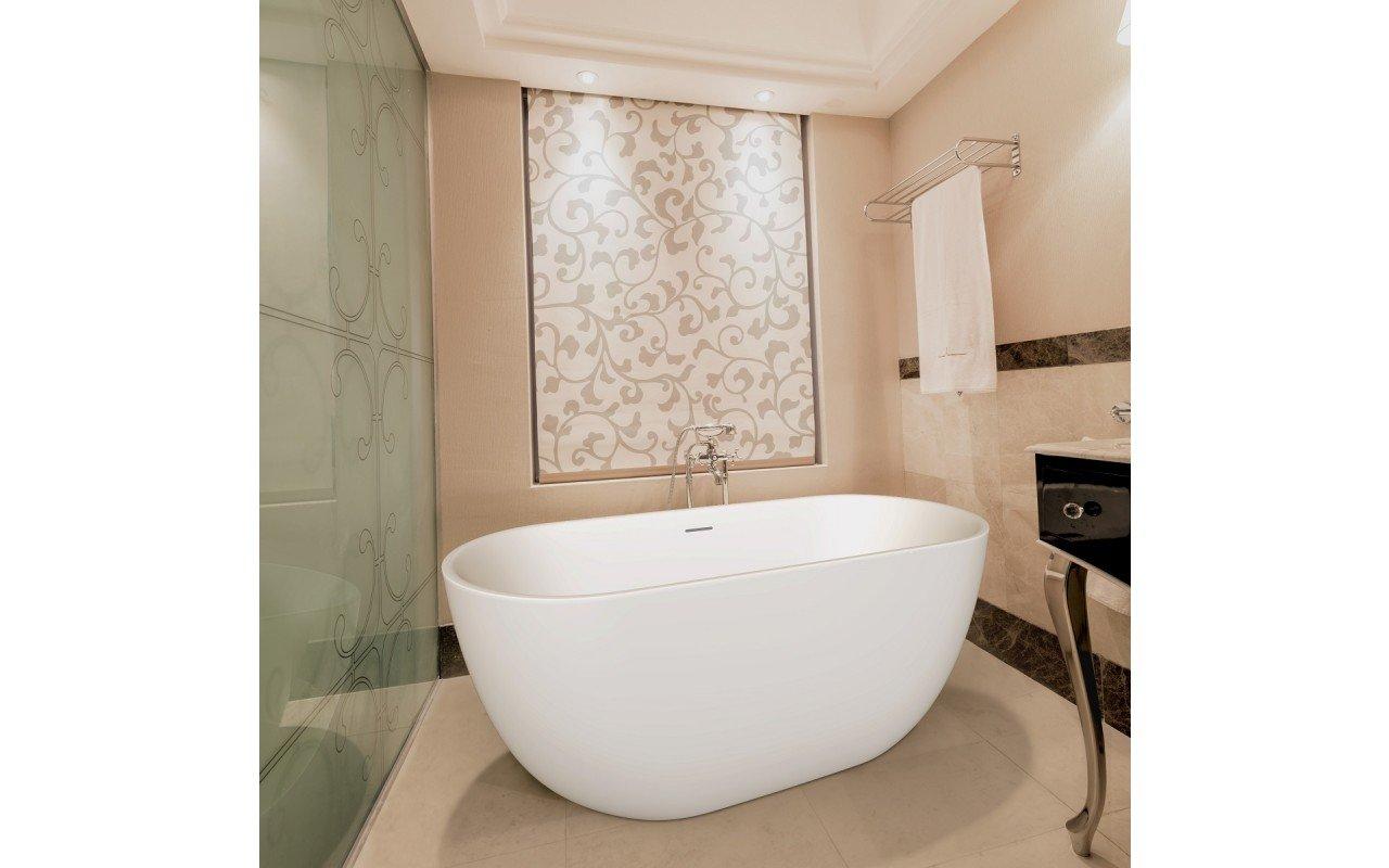 Purescape 617 Freestanding Stone Bathtub