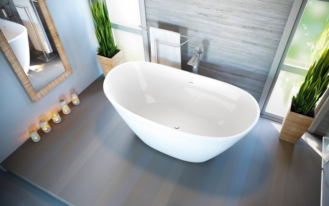 Purescape 748 Glossy Freestanding Slipper Stone Bathtub 05 2 web