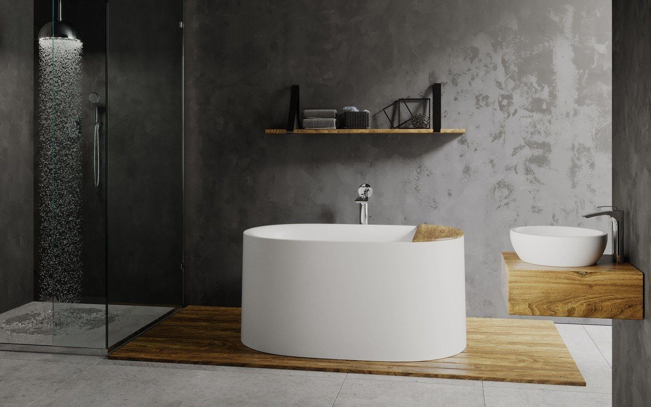 Sophia freestanding stone bathtub by Aquatica 02 (web)