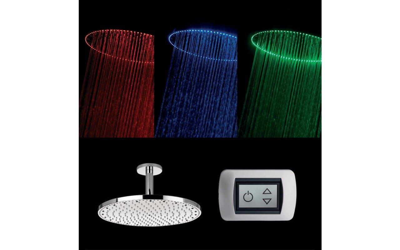 Spectrum Sunshine Round Shower Head web(1)