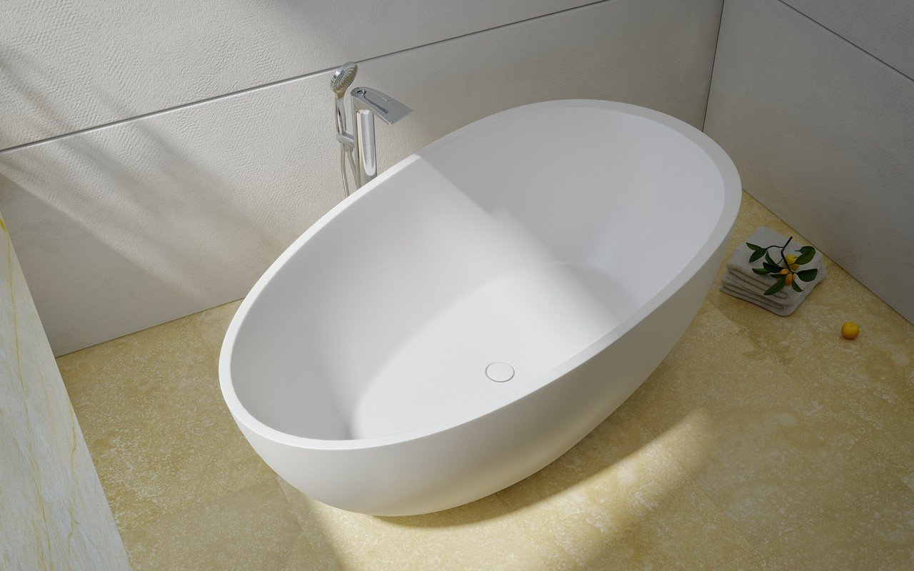 Spoon 2 Freestanding Solid Surface Bathtub by Aquatica 03 (web)