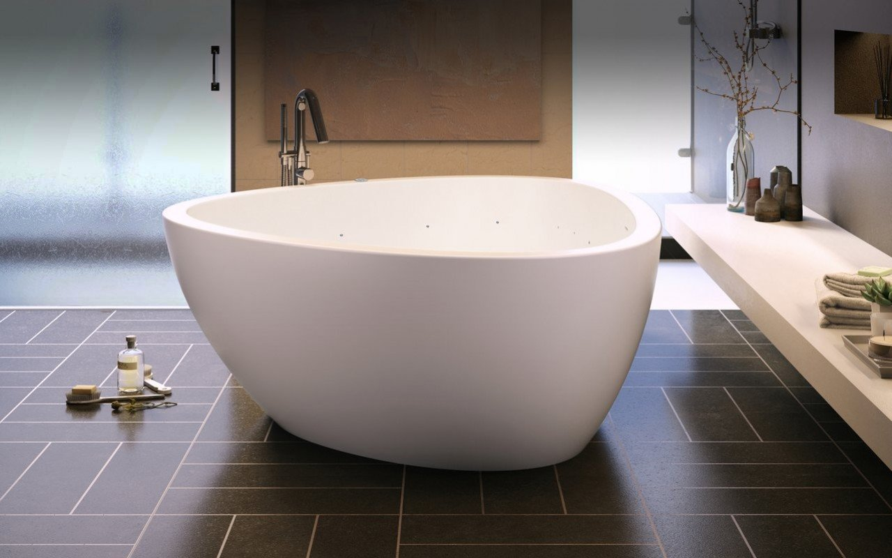 Trinity Relax Freestanding Light Weight Stone Bathtub Fine Matte 02 (web)