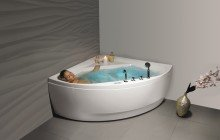Aquatica olivia wht spa jetted corner bathtub web 01