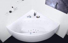 Olivia Relax Corner Acrylic Air Massage Bathtub by Aquatica web DSC2573