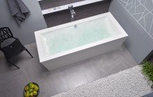 Purescape 026 freestanding acrylic bathtub by Aquatica 05 (web)