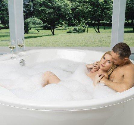 Allegra Round Freestanding Bathtub 5