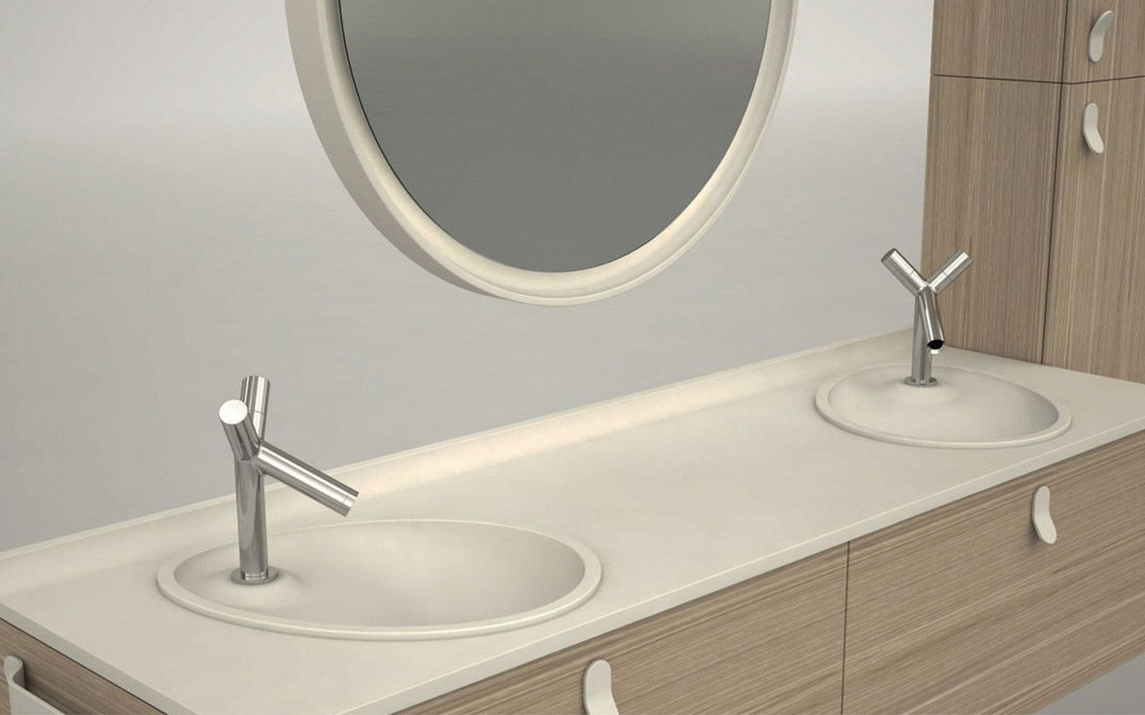 Aquatica Ovo Stone Bathroom Sink