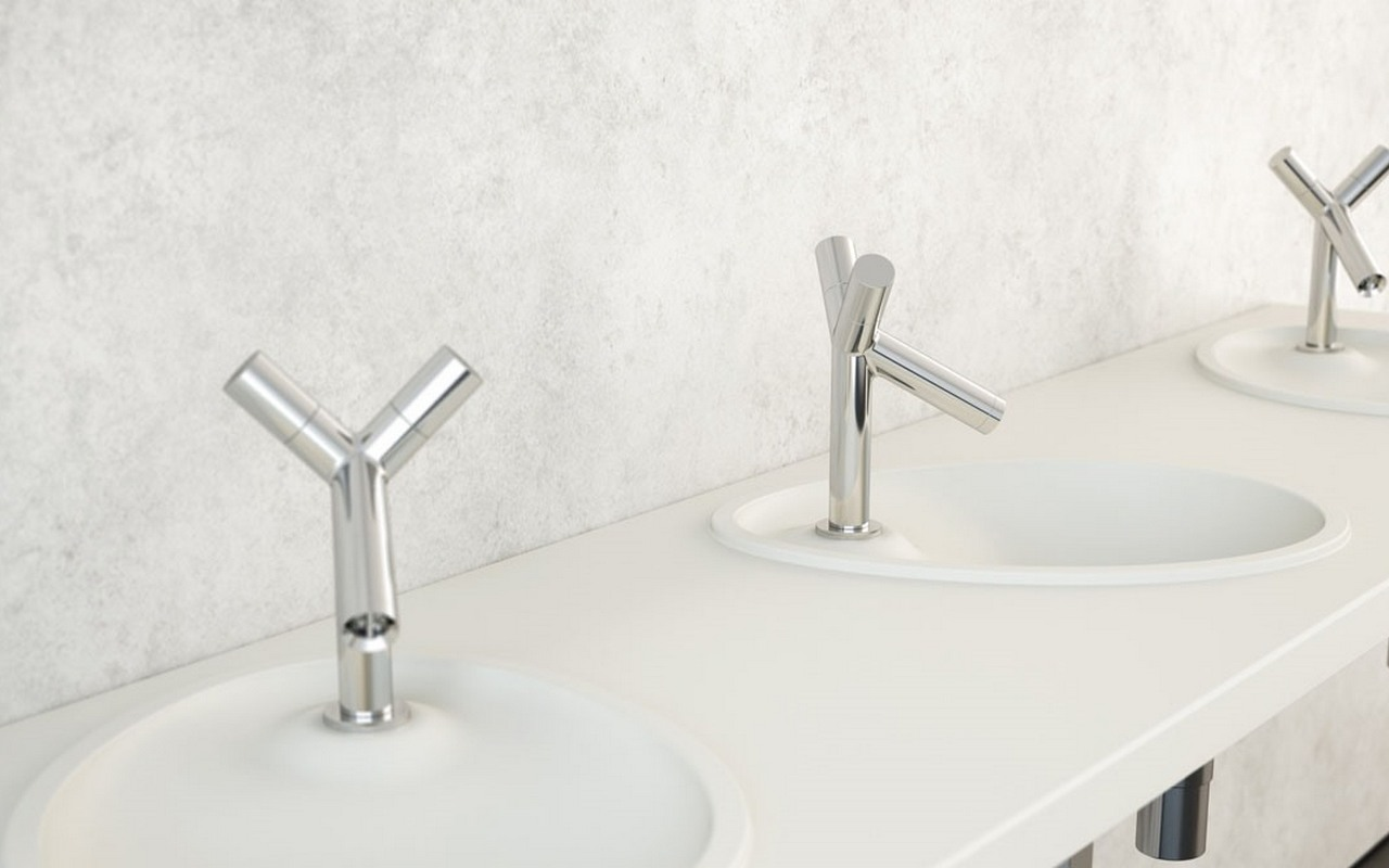 Aquatica OVO Stone Drop in Bathroom Sink 01