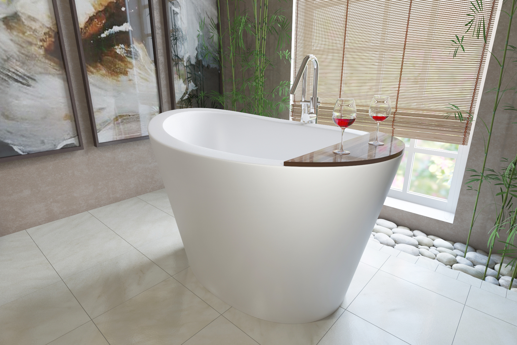 Aquatica Bath USA Stone Bathtubs - Japanese soaking tub