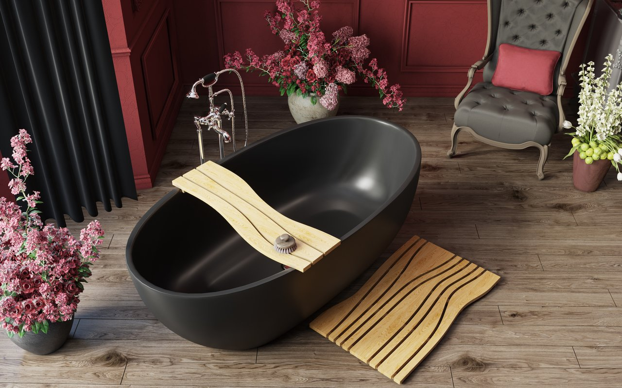 Aquatica Corelia Black Freestanding Solid Surface Bathtub 04 (web)
