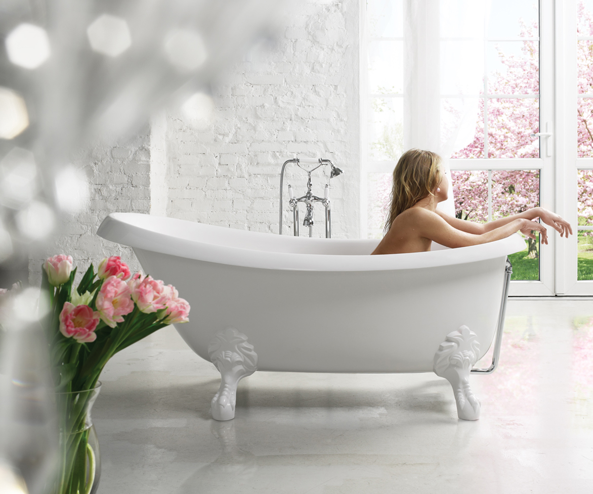 Aquatica Nostalgia Freestanding Ecomarmor Bathtub With Stone Legs 01 Web