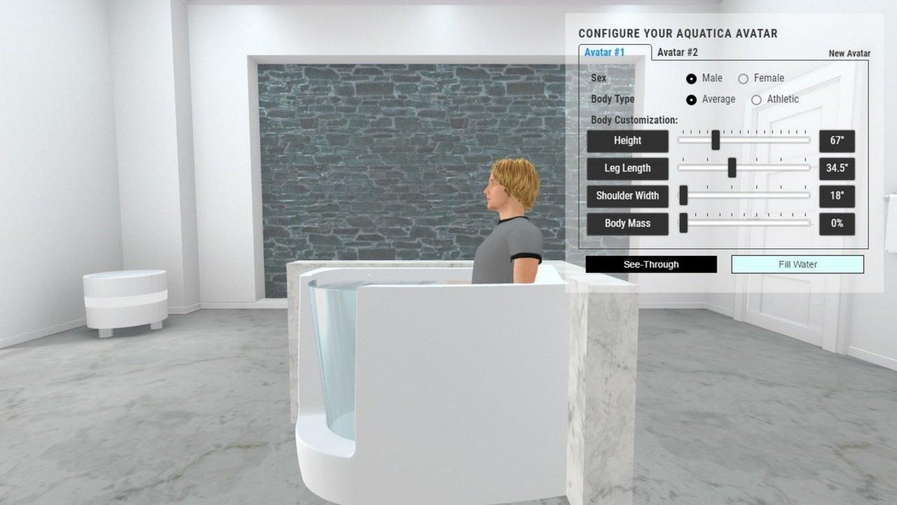Baby boomer l corner acrylic walk in bathtub