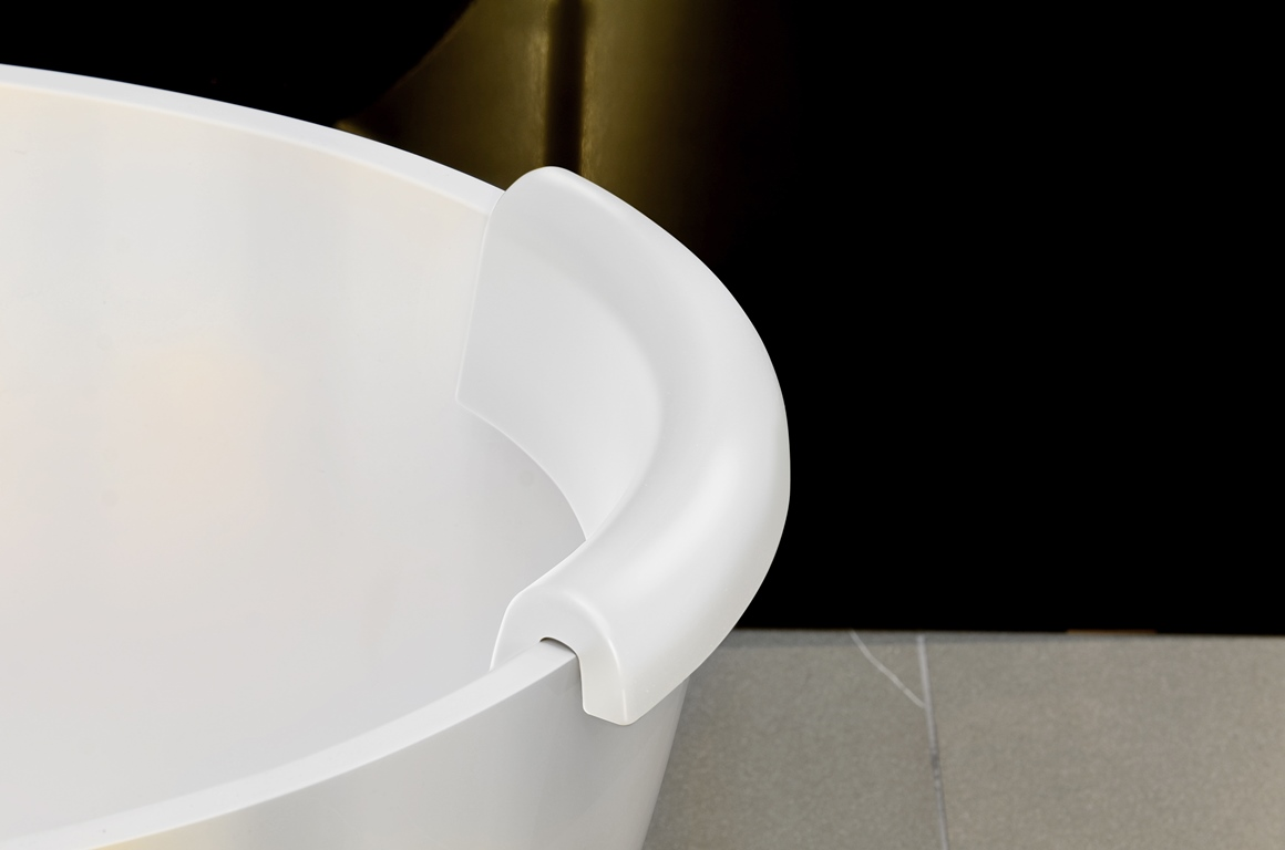 Aquatica Beatrice Bath Polyurethane Gel Headrest White