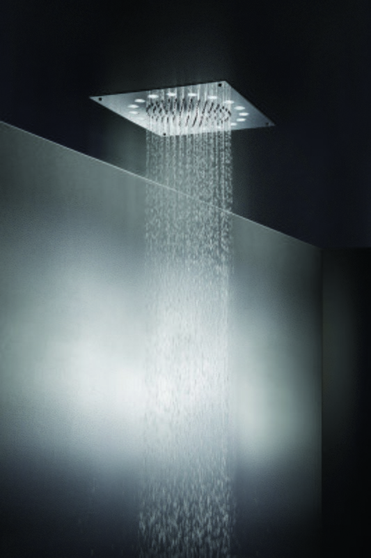 Dynamo Dynamic LED Hydropowered Ceiling Shower Head (main) (web)
