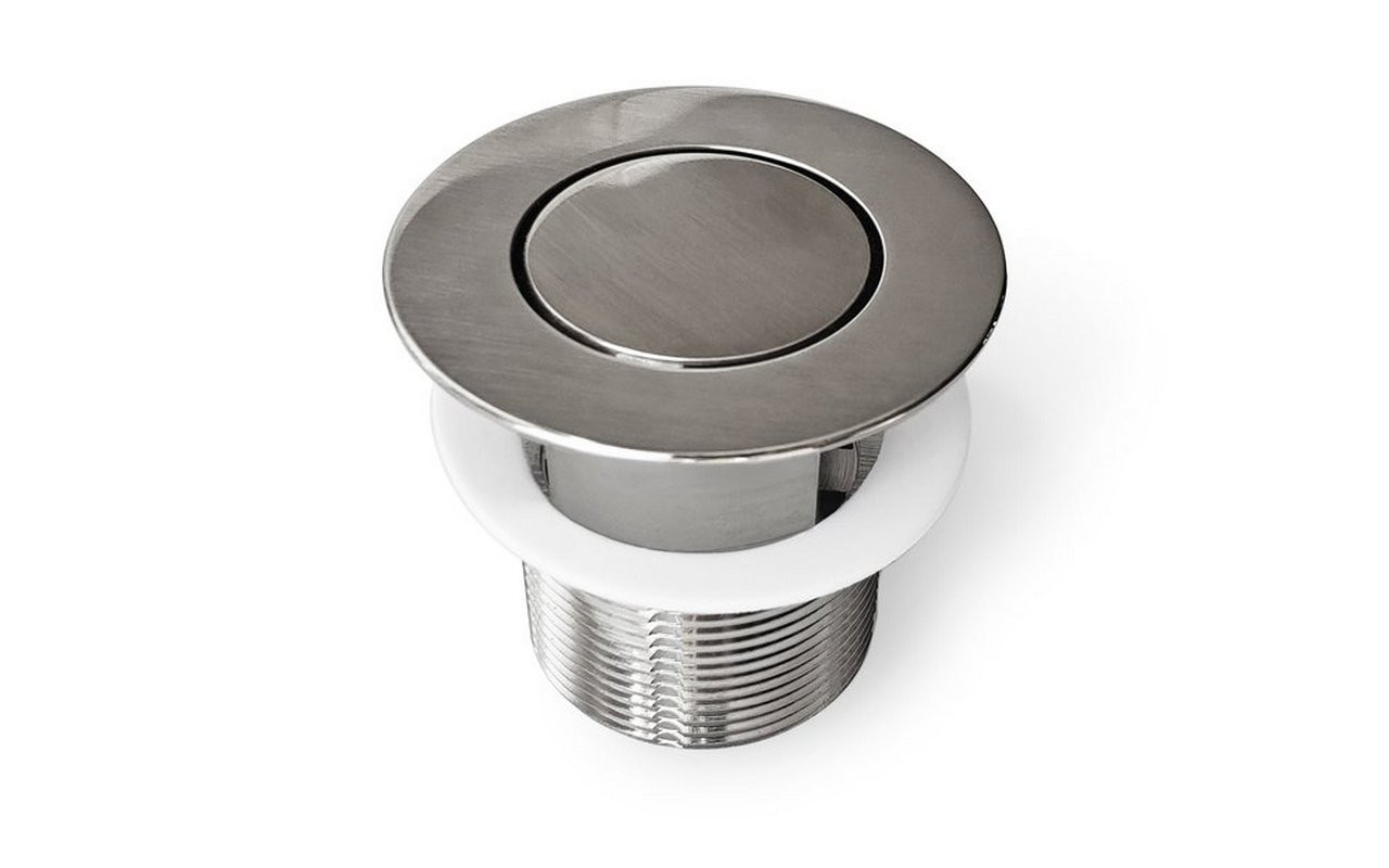 Euroflipper BN Bathtub Drain (Brushed Nickel) 01 (web)