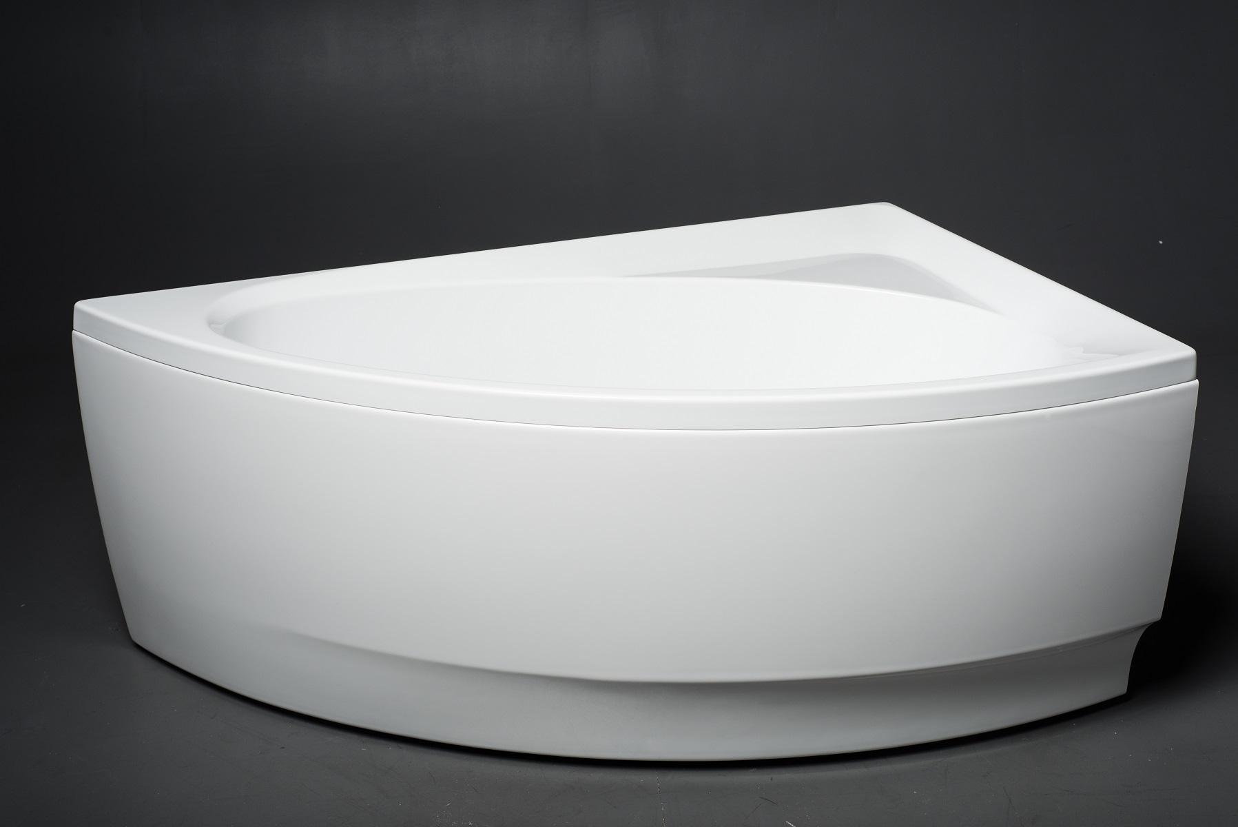aquatica idea l wht corner acrylic bathtub. Black Bedroom Furniture Sets. Home Design Ideas