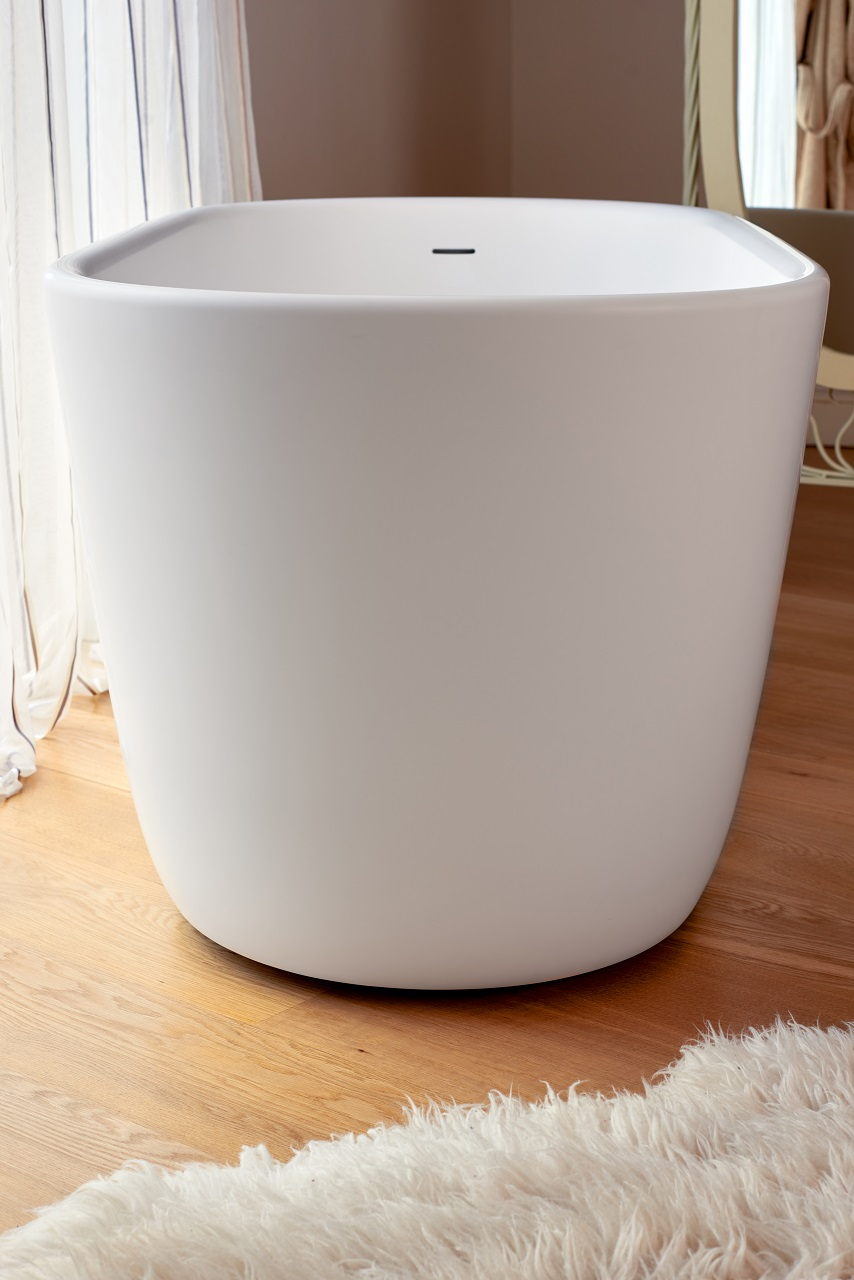 Aquatica lullaby mini wht freestanding solid surface bathtub - Vasche da bagno mini ...