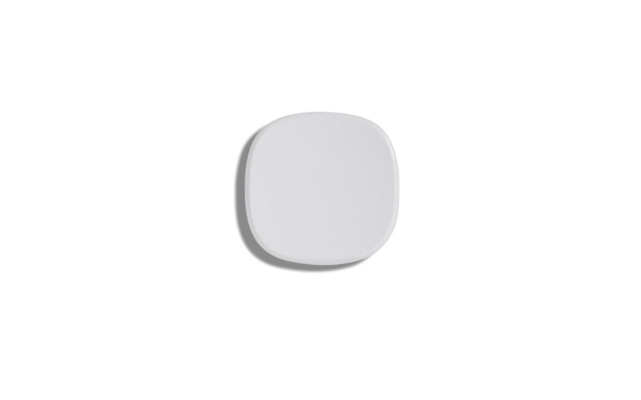 Metamorfosi sink drain white ceramic cover