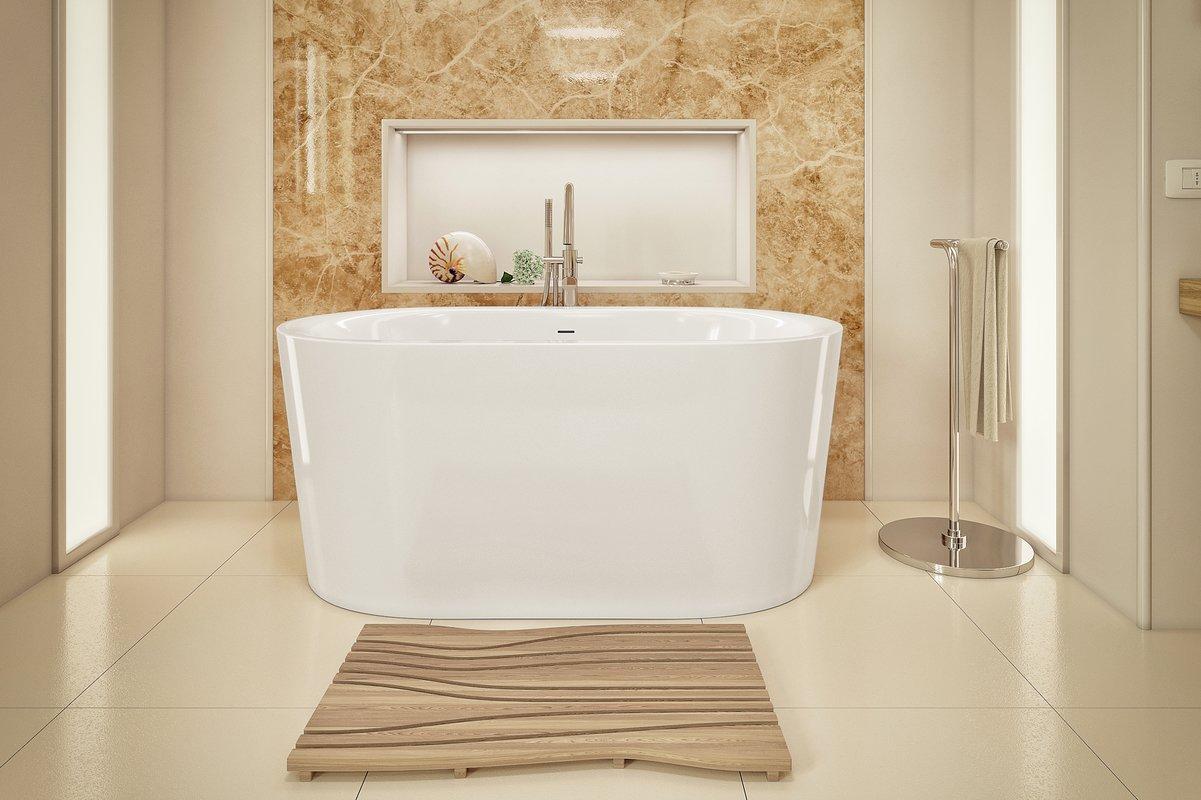 Purescape 014A Freestanding Acrylic Bathtub by Aquatica 01 (web)