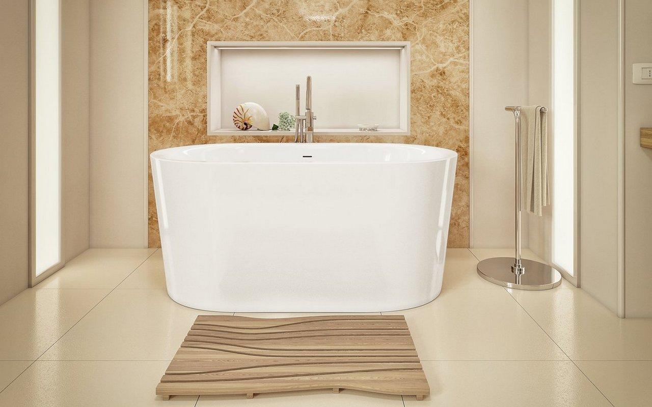Purescape 014A Freestanding Acrylic Bathtub by Aquatica 01 1 (web)