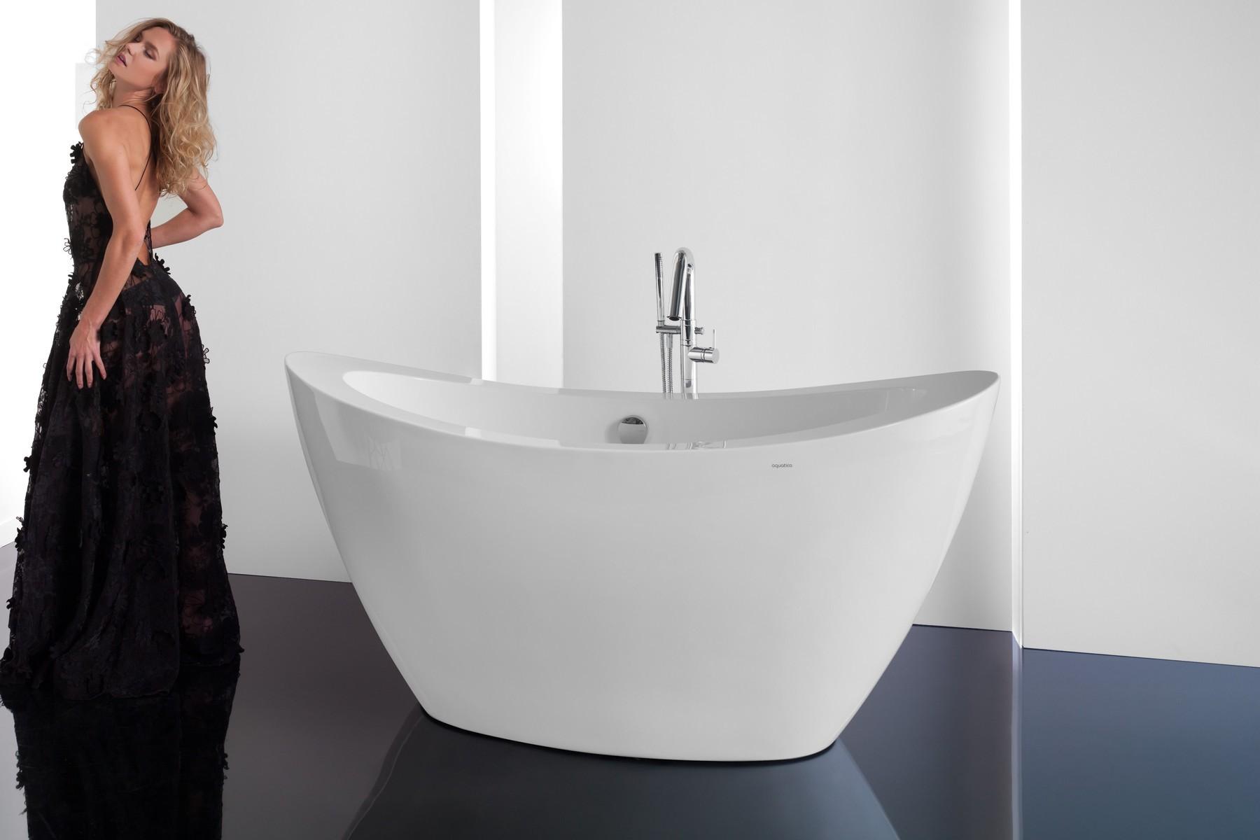 Purescape 148 Freestanding Acrilic Bathtub 1200 1800