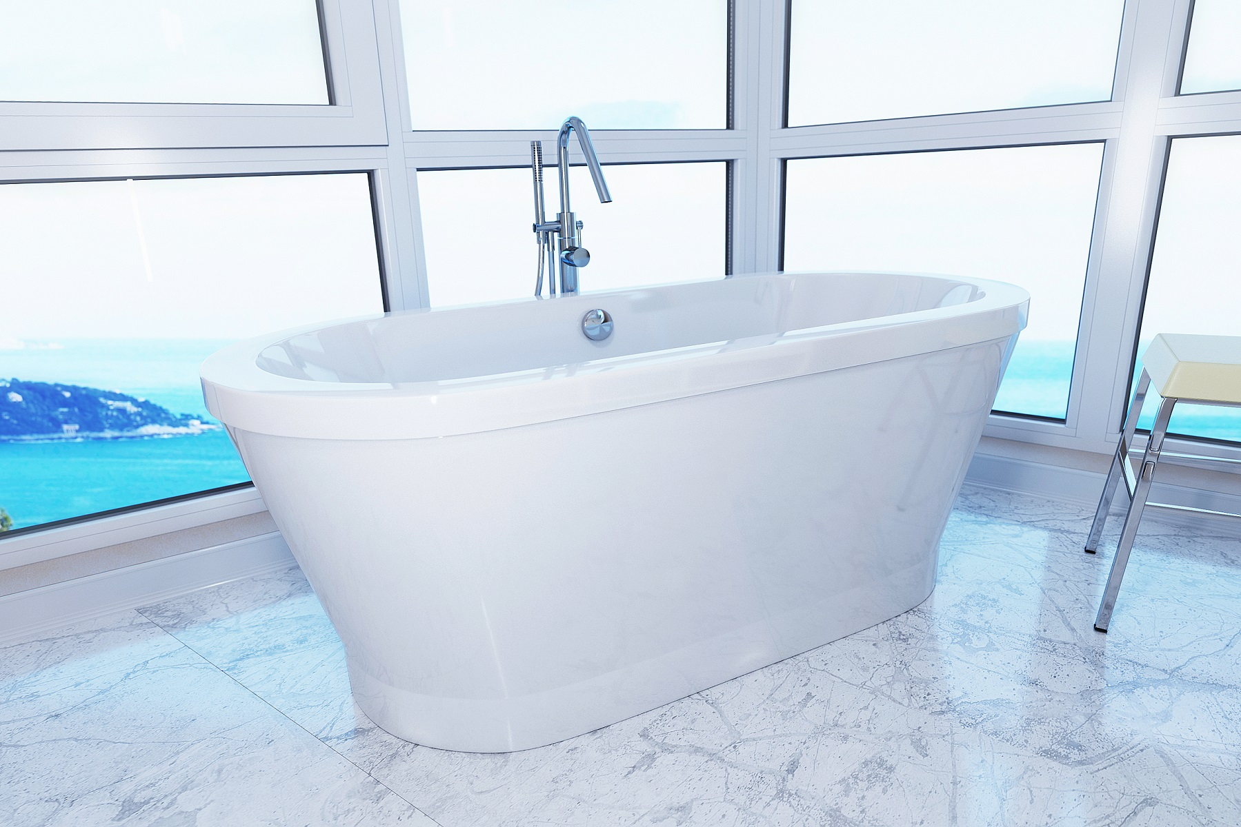 Freestanding Acrylic Bathtubs - Bathtub Ideas