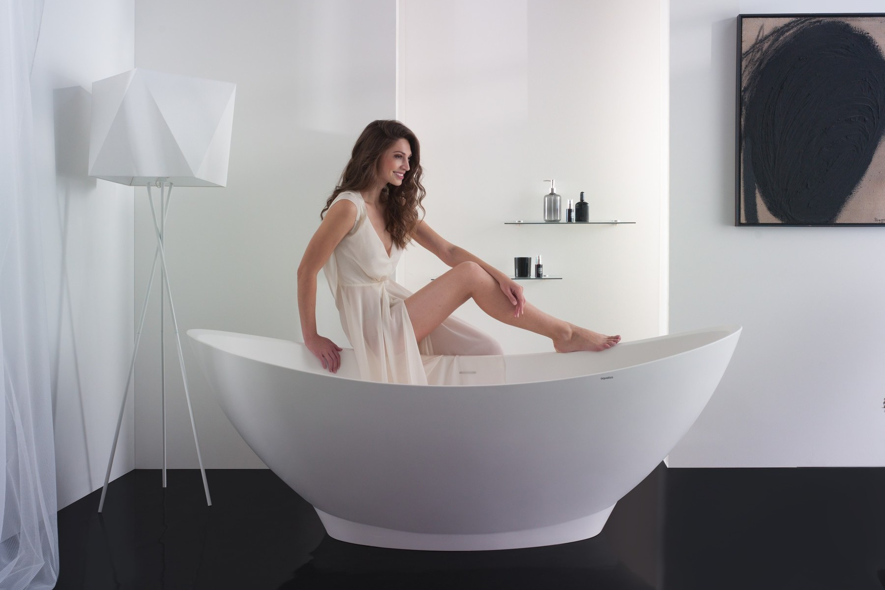 Aquatica PureScape™ 621M Freestanding Solid Surface Bathtub - Fine ...
