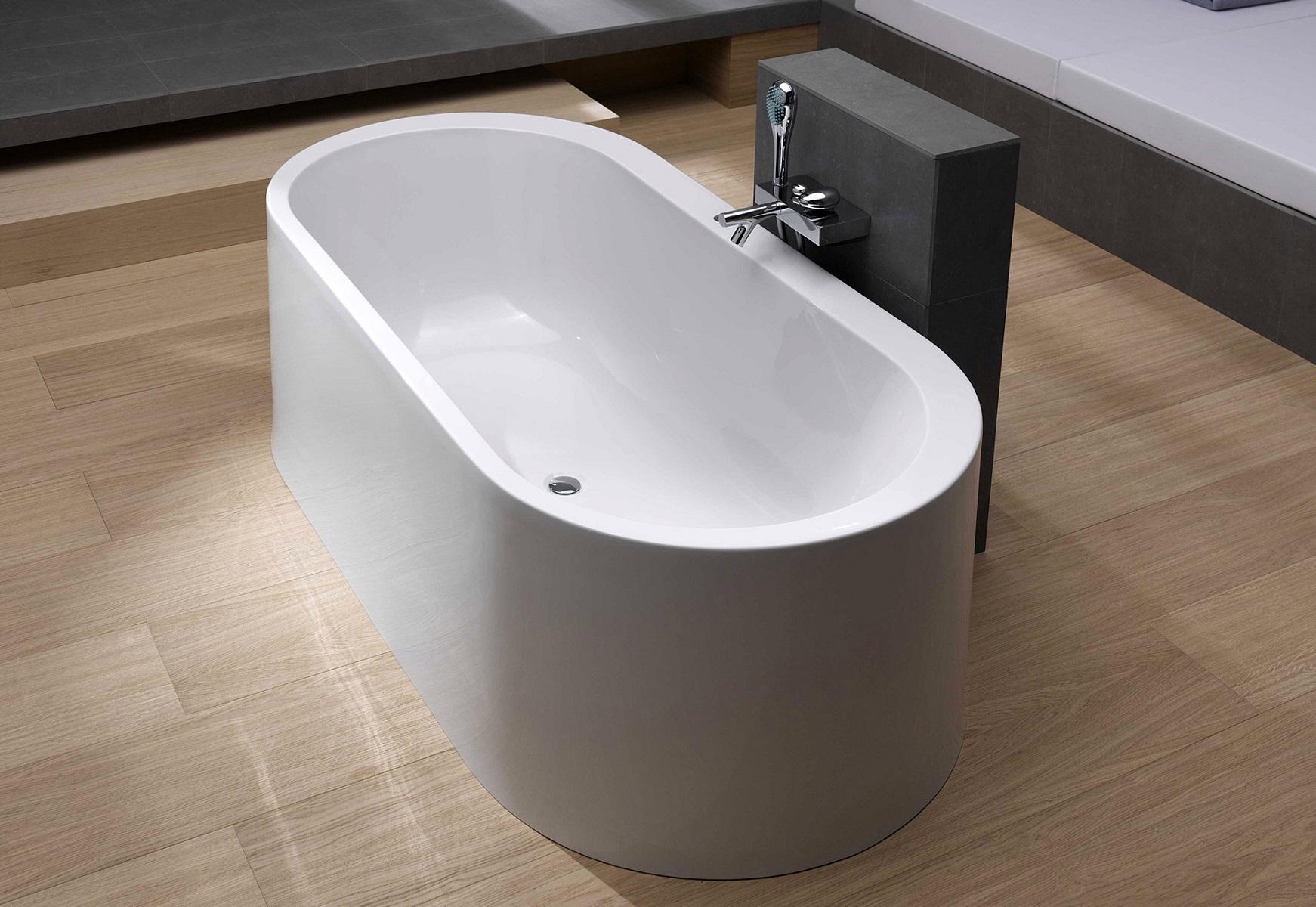 freestanding tub for two.  Aquatica PureScape 169 Freestanding Acrylic Bathtub