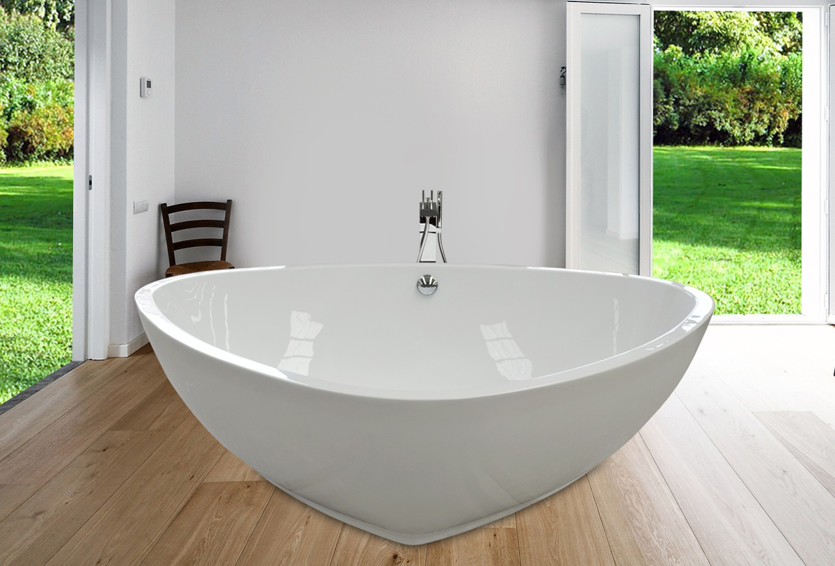 Best Triangle Tub Ideas - The Best Bathroom Ideas - lapoup.com