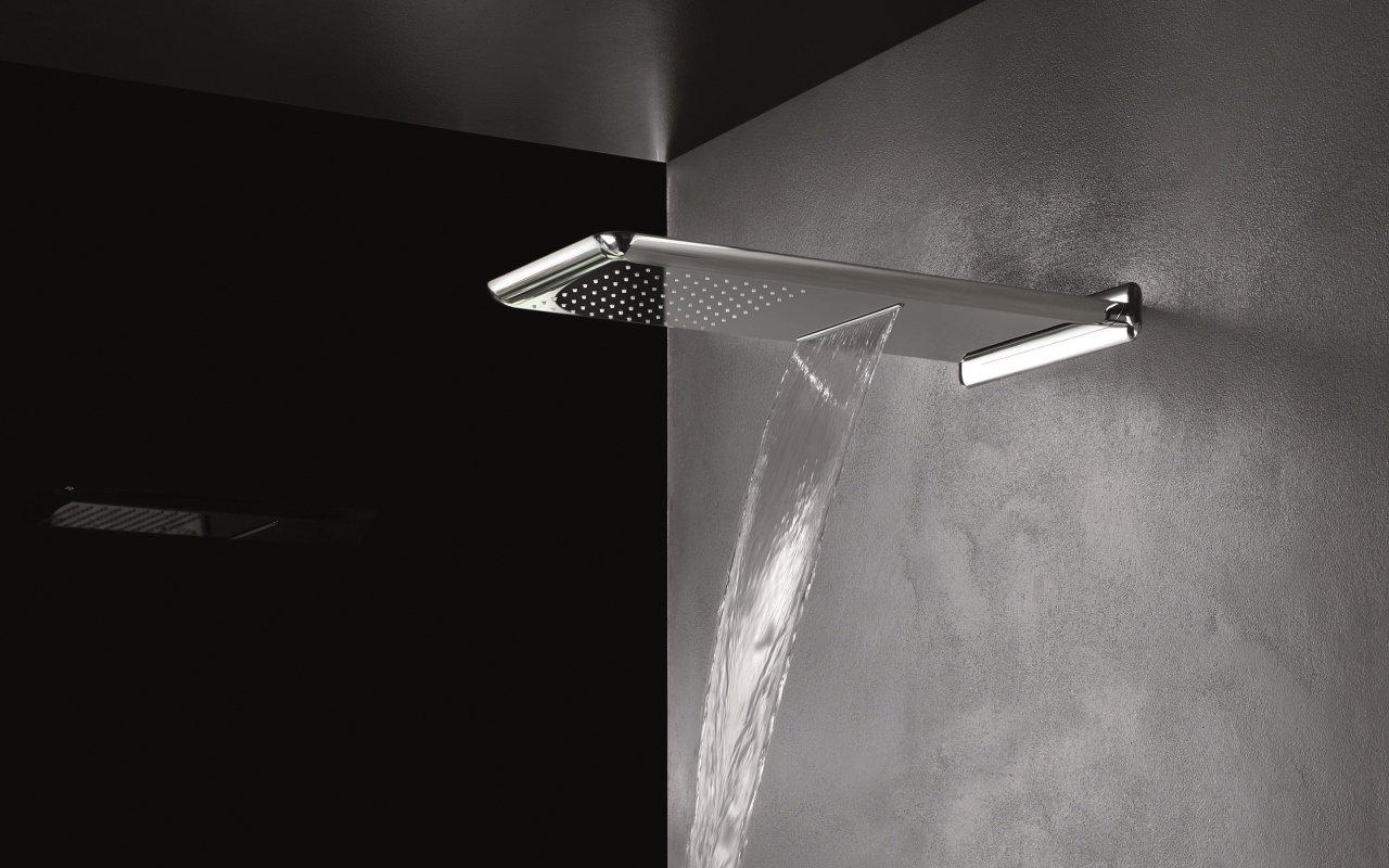 Spring RC-590/310-B Wall-Mounted Shower Head